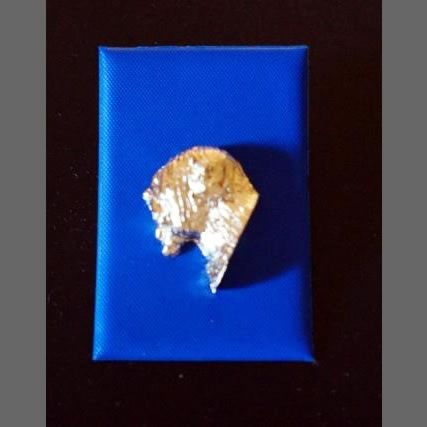 lapel pin badge gold plated