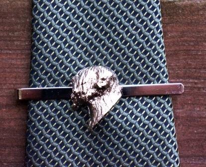 wheaten head tie slide
