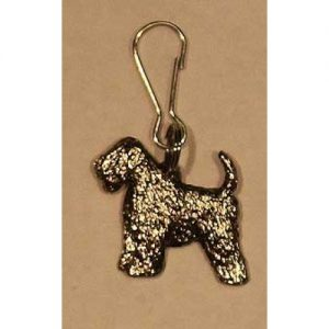 wheaten terrier zip pull
