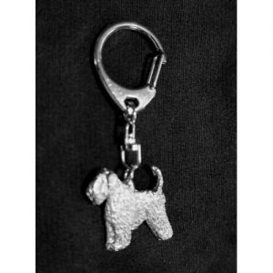 key ring silver finish