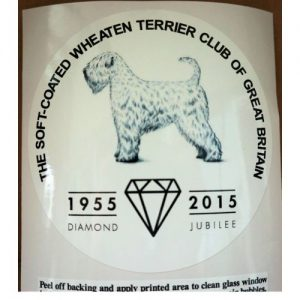 scwtcgb diamond jubilee logo car sticker