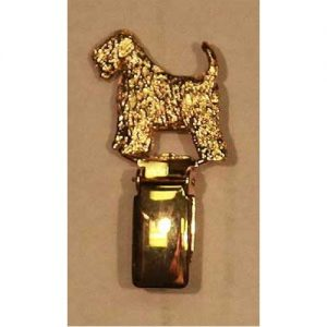 show ring clip gold plated