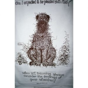 fuzzypeg tea towel